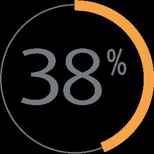 38% icon