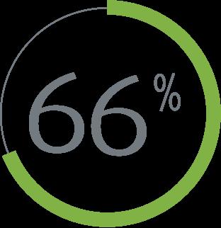 66% icon